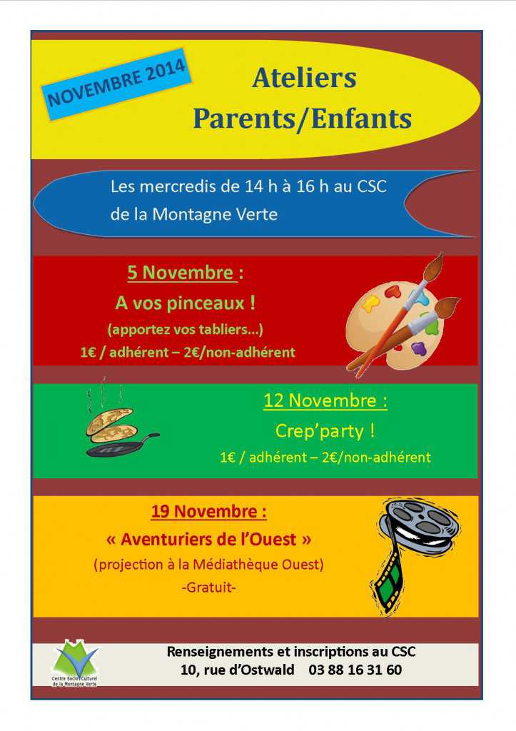atelier parent enfant novembre 2014