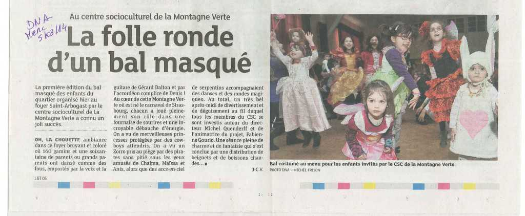 Article DNA 5 Mars - retour bal-concert